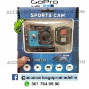Cámara Sports Cam WVGA WIFI 30m sumergible