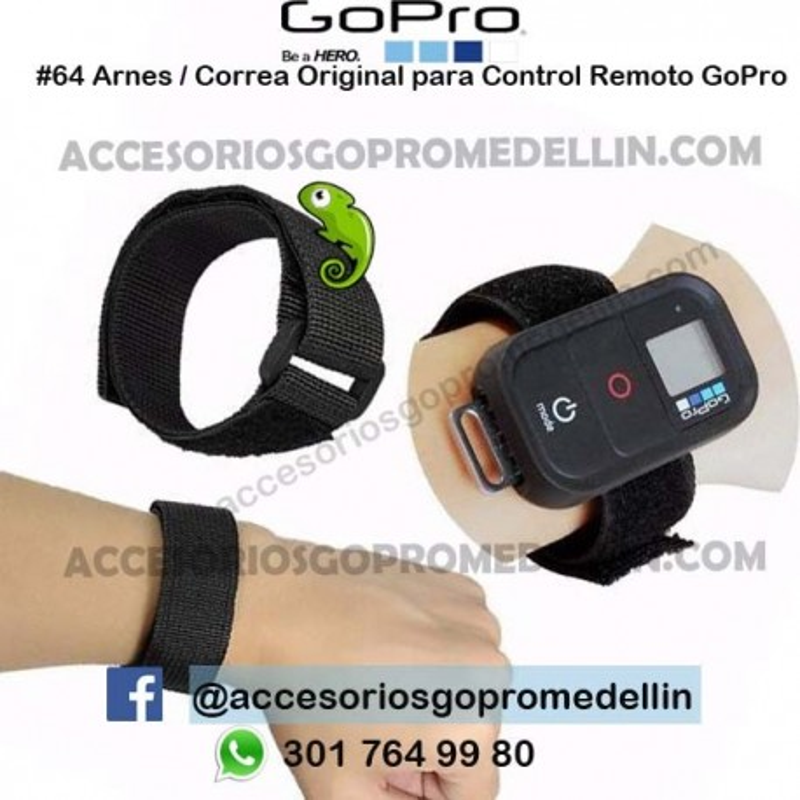 Arnes / Correa Original para Control Remoto GoPro