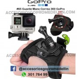 Guante Mano Correa 360 GoPro