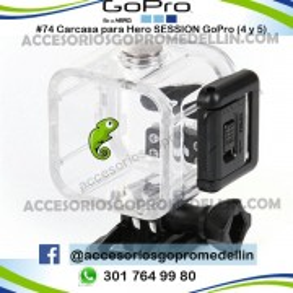 Carcasa GoPro Hero Session 4 y Hero 5 Accesorios Medellin Colombia