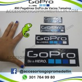 Pegatinas GoPro - Calcomania de GoPro Deportiva