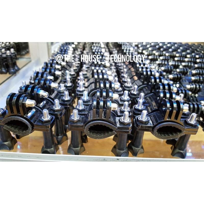 Kit GoPro Basico Pechera, Arnes, Palo Monopod, Clic J ventosa de camara deportiva