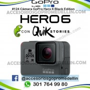 Cámara GoPro Hero 6 Black Original