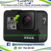 Cámara GoPro Hero 7 Black 4K 12MP Control Voz