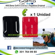 Base GoPro para casco. Curvas Originales