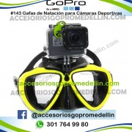 Gafas Buceo para Cámara Deportiva GoPro Colombia