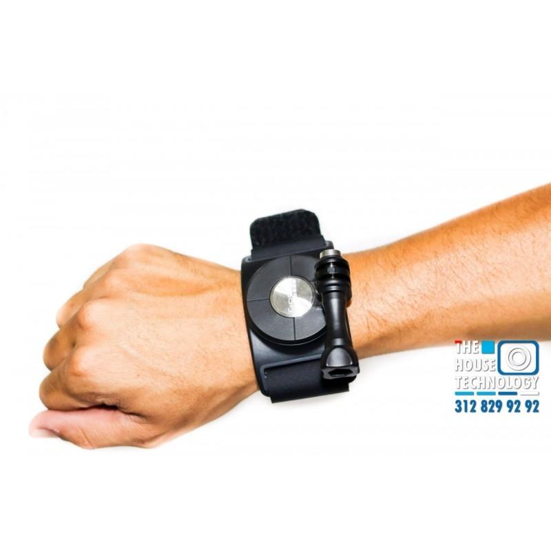 Anclaje Brazo 360 GoPro Giratorio para Motos o Selfie