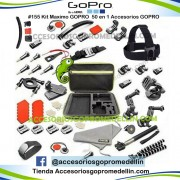 Kit Accesorios 50 en 1 Combo Productos GoPro Colombia