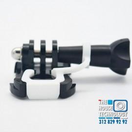 Tapa Broche Metálico GoPro Hero 3 y 4 en Carcasa Sumergible