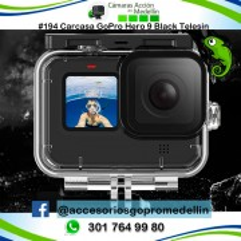 Carcasa GoPro Hero 9 Telesin Sumergible en Colombia