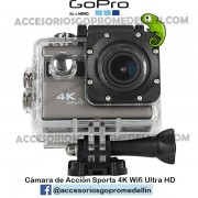Cámara Sports 4K Ultra HD WIFI 16MP